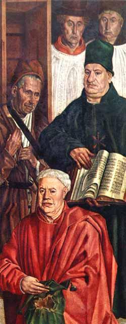 Painel da Relíquia ou Alegoria do Comando Virtuoso, um dos poucos registos iconográficos de judeus portugueses quinhentistas que ainda restam.
